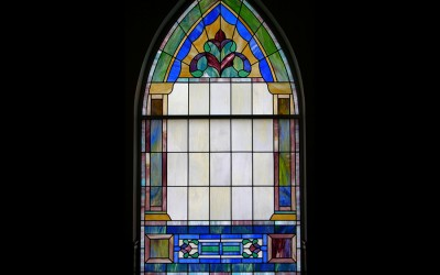 Religious Opalescent Window